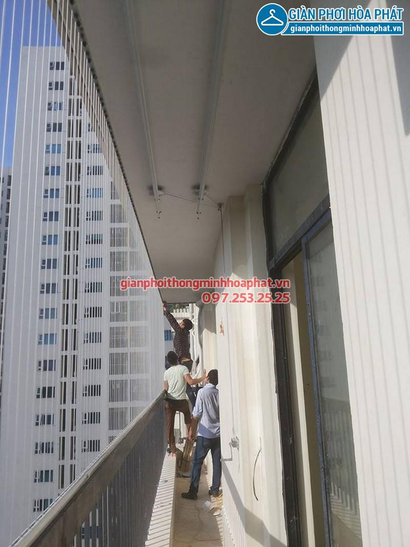 Lắp lưới bảo vệ nhà anh Điệp chung cư Westa, Văn Quán, Hà Đông 05