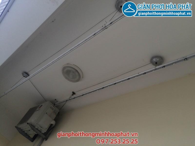 Sửa giàn phơi thông minh nhà anh Long P706 tòa CT1B chung cư Nam Đô, 609 Trương Định 02