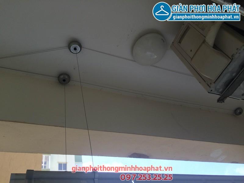 Sửa giàn phơi nhà chị Anh phòng 508 No17-2 kdt Sài Đồng 01