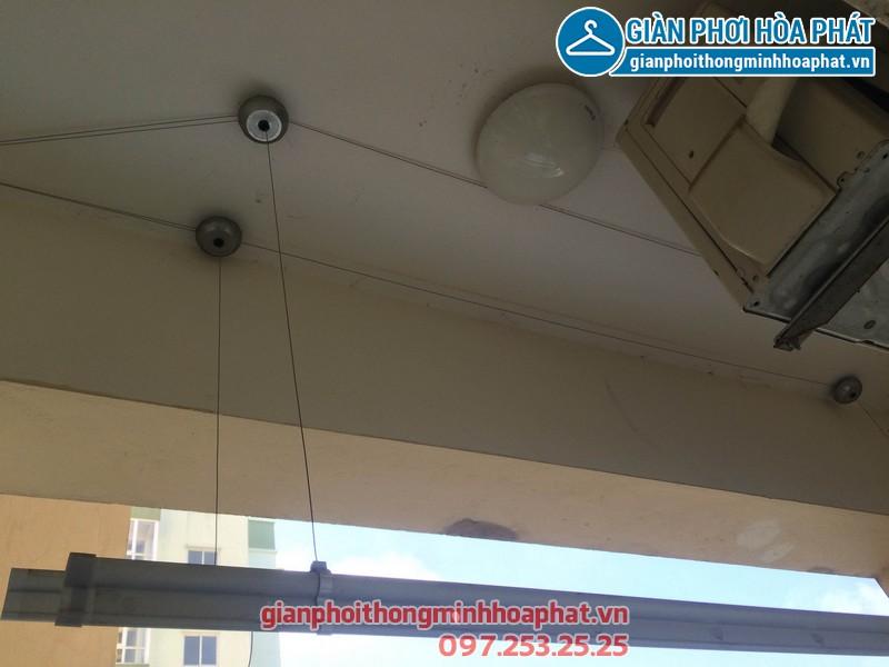Sửa giàn phơi nhà chị Anh phòng 508 No17-2 kdt Sài Đồng 02