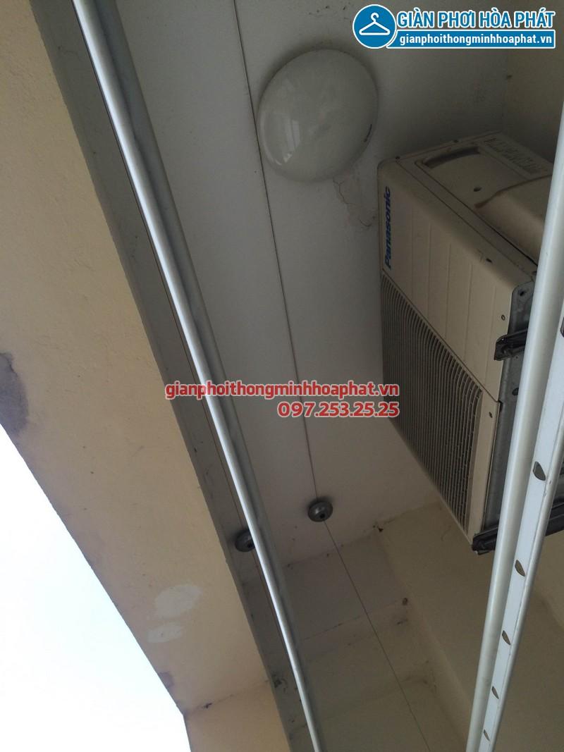 Sửa giàn phơi nhà chị Anh phòng 508 No17-2 kdt Sài Đồng 04