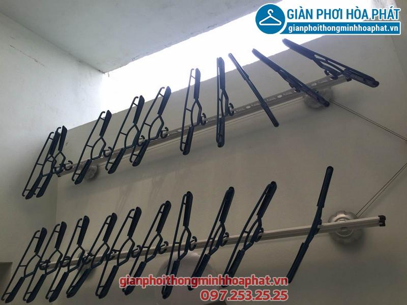 Giàn phơi thông minh nhà chị Hạnh, p5A09 Rice City, Tây Nam Linh Đàm 02