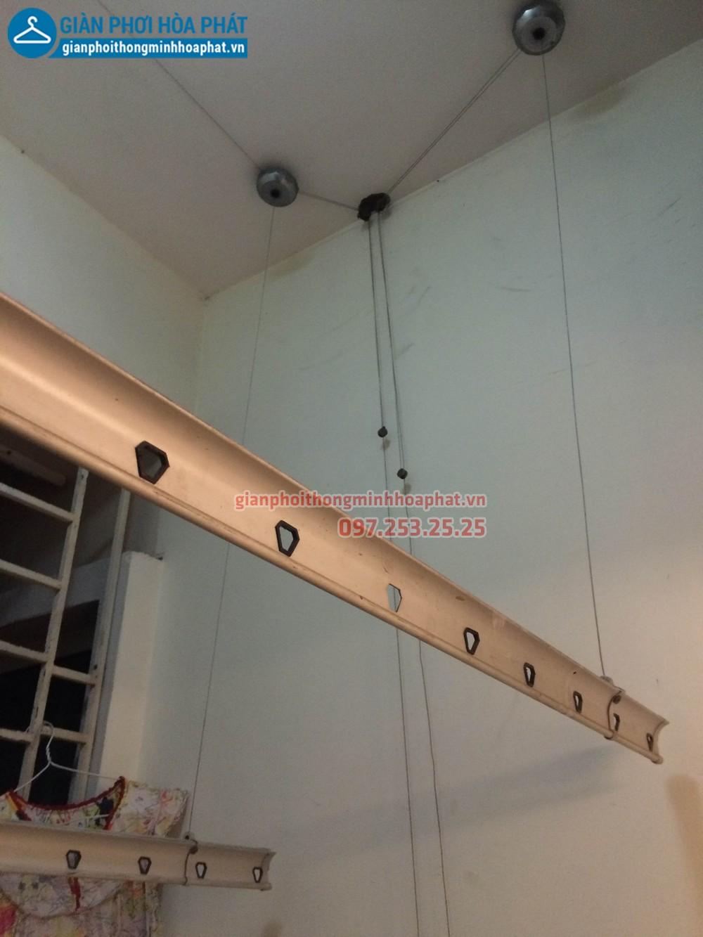 Sửa giàn phơi thông minh nhà chị Nhung P503 CT3 đơn nguyên 1 kđt Trung Văn 03