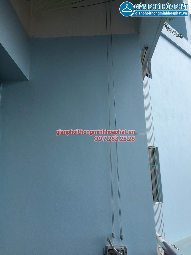 Sửa giàn phơi thông minh Phòng 1504 nhà A5 làng Quốc tế Thăng Long 02