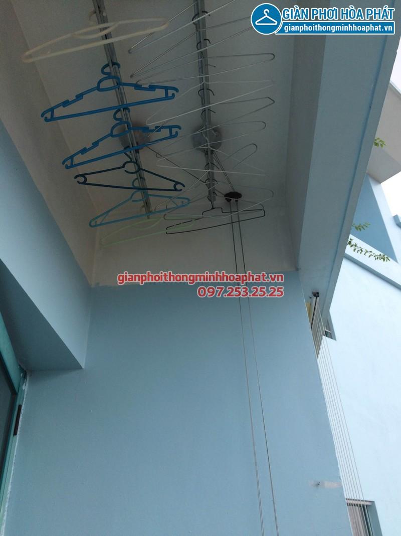 Sửa giàn phơi thông minh Phòng 1504 nhà A5 làng Quốc tế Thăng Long 03
