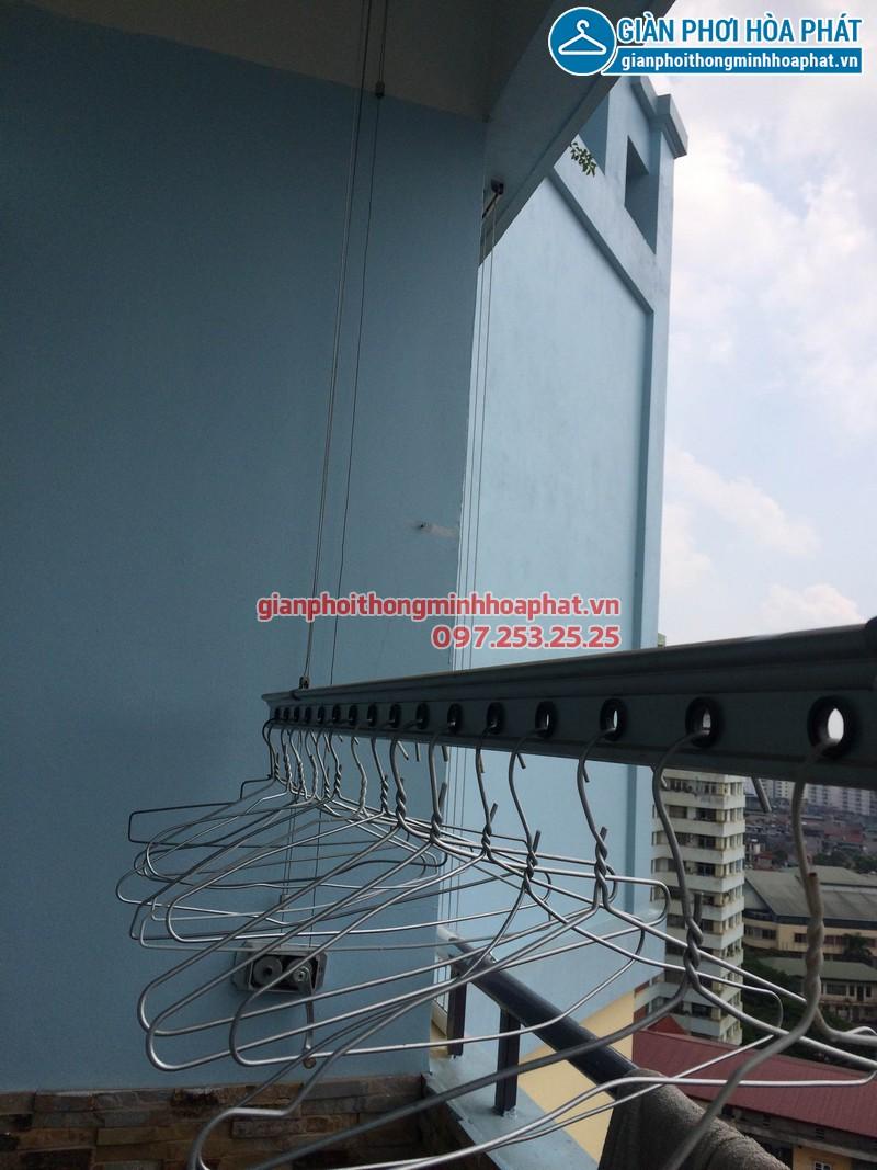Sửa giàn phơi thông minh Phòng 1504 nhà A5 làng Quốc tế Thăng Long 05