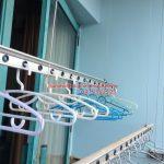 Sửa giàn phơi thông minh Phòng 1504 nhà A5 làng Quốc tế Thăng Long