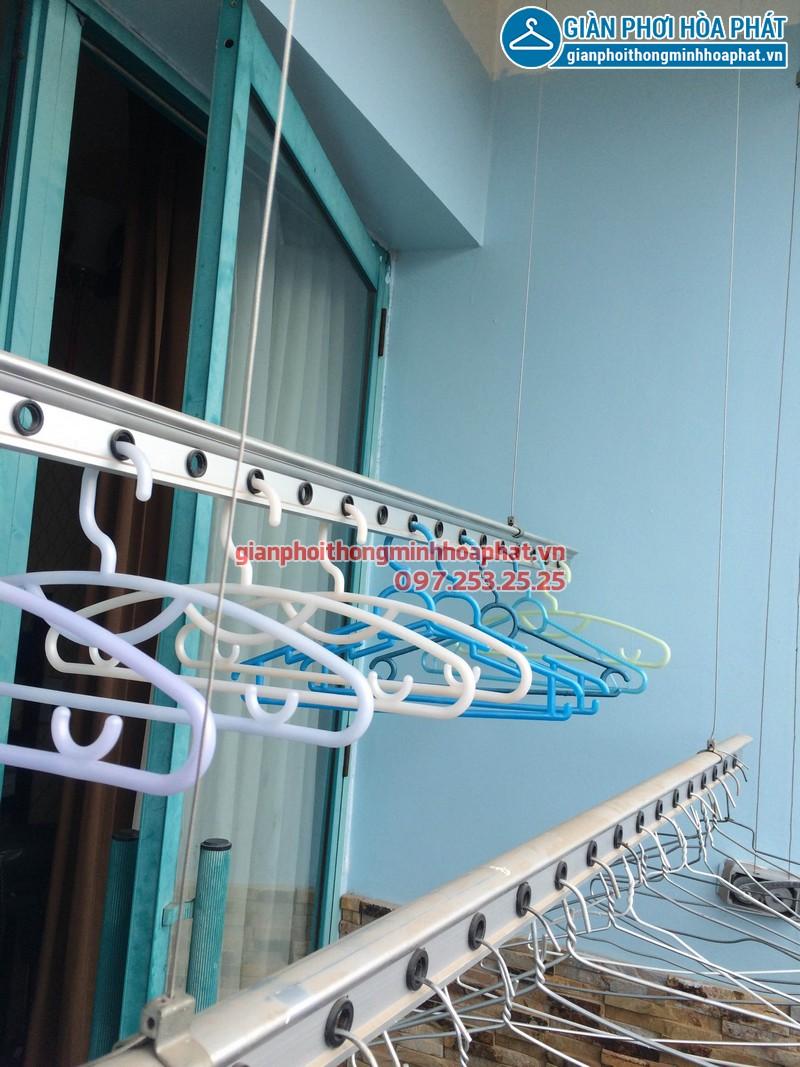 Sửa giàn phơi thông minh Phòng 1504 nhà A5 làng Quốc tế Thăng Long 06