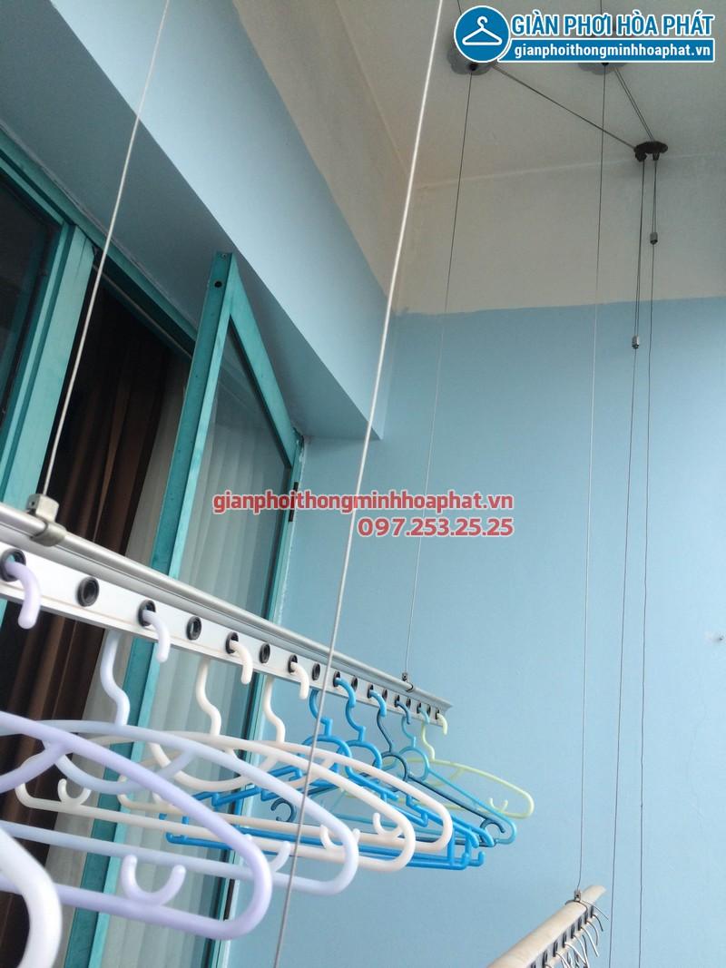 Sửa giàn phơi thông minh Phòng 1504 nhà A5 làng Quốc tế Thăng Long 08