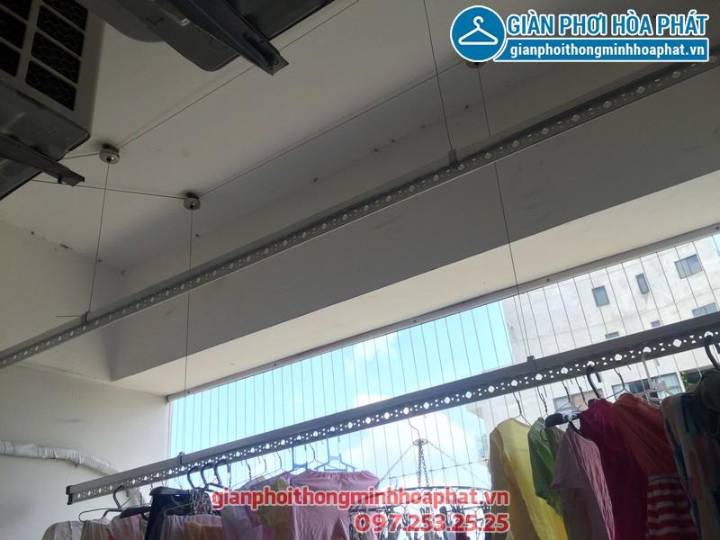 Sửa thay dây cáp giàn phơi thông minh nhà chị Kim Anh P2132 VP5 Linh Đàm 05