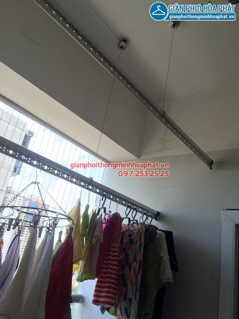 Sửa thay dây cáp giàn phơi thông minh nhà chị Kim Anh P2132 VP5 Linh Đàm 07