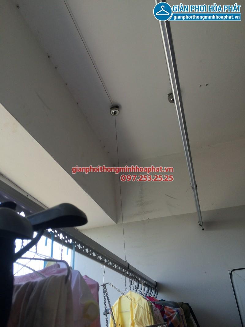 Sửa thay dây cáp giàn phơi thông minh nhà chị Kim Anh P2132 VP5 Linh Đàm 11