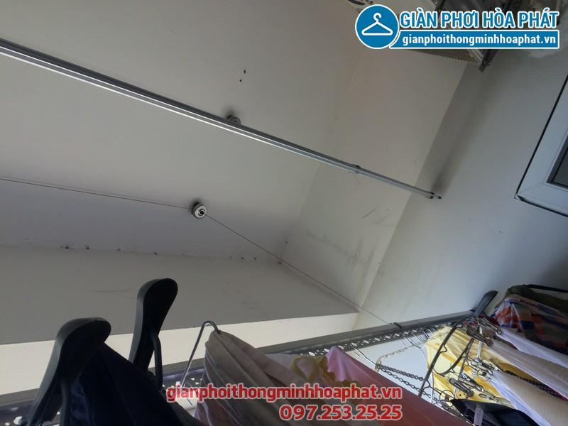 Sửa thay dây cáp giàn phơi thông minh nhà chị Kim Anh P2132 VP5 Linh Đàm 13