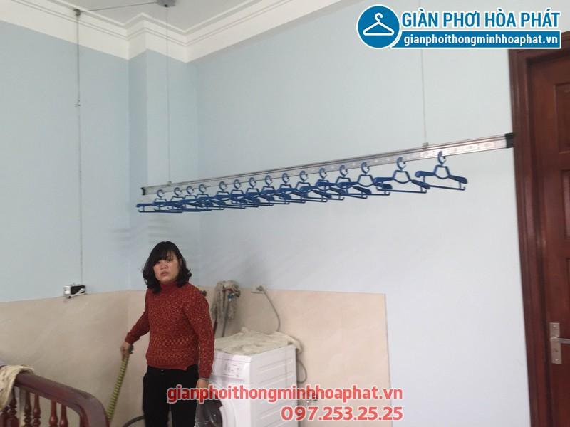 Lắp giàn phơi thông minh tại số 124, phố Bạch Mai, Hai Bà Trưng, Hà Nội
