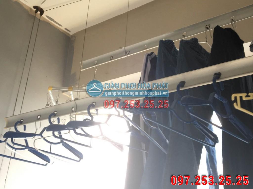 Sửa thay dây cáp giàn phơi thông minh cho nhà chị Hà p2106 24T Hapulico 85 Vũ Trọng Phụng 01