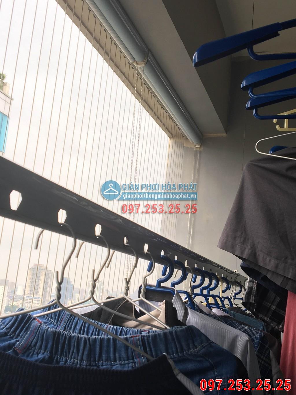 Sửa thay dây cáp giàn phơi thông minh cho nhà chị Hà p2106 24T Hapulico 85 Vũ Trọng Phụng 02