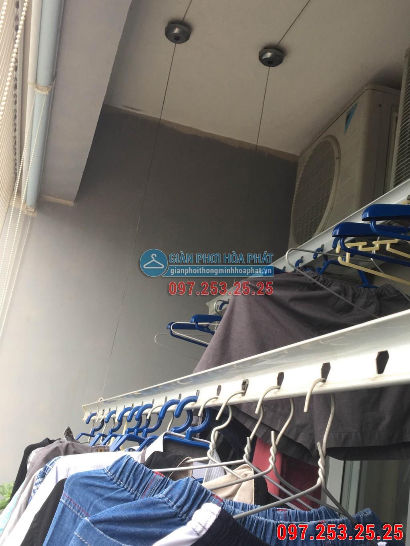 Sửa thay dây cáp giàn phơi thông minh cho nhà chị Hà p2106 24T Hapulico 85 Vũ Trọng Phụng 03