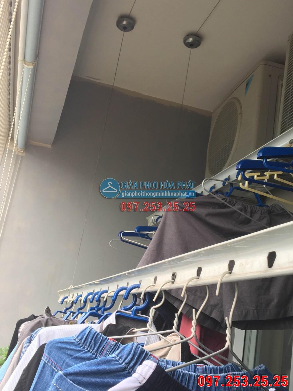 Sửa thay dây cáp giàn phơi thông minh cho nhà chị Hà p2106 24T Hapulico 85 Vũ Trọng Phụng 04