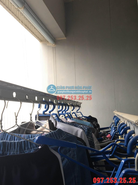 Sửa thay dây cáp giàn phơi thông minh cho nhà chị Hà p2106 24T Hapulico 85 Vũ Trọng Phụng 09