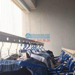 Chị Hà sửa thay dây cáp giàn phơi P2106, 24T, Hapulico 85 Vũ Trọng Phụng
