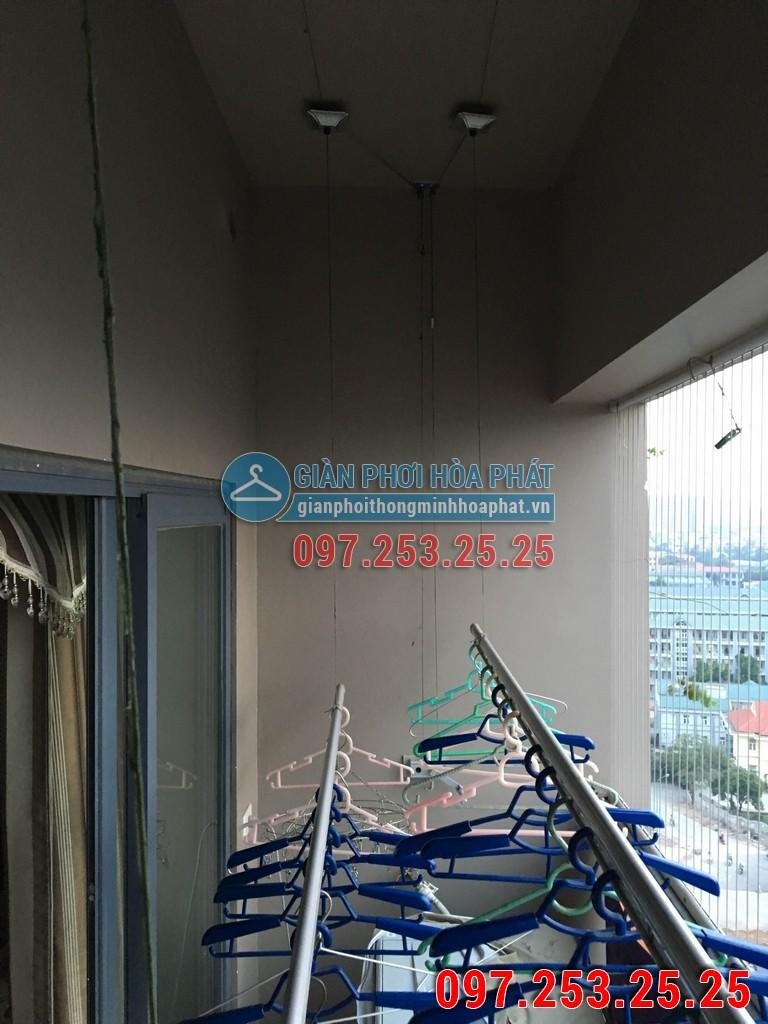 Lắp giàn phơi thông minh Hòa Phát p1302 chung cư HH2 ngõ 102 Trường Chinh 05