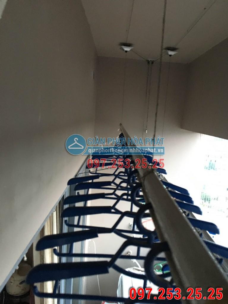 Lắp giàn phơi thông minh Hòa Phát p1302 chung cư HH2 ngõ 102 Trường Chinh 07