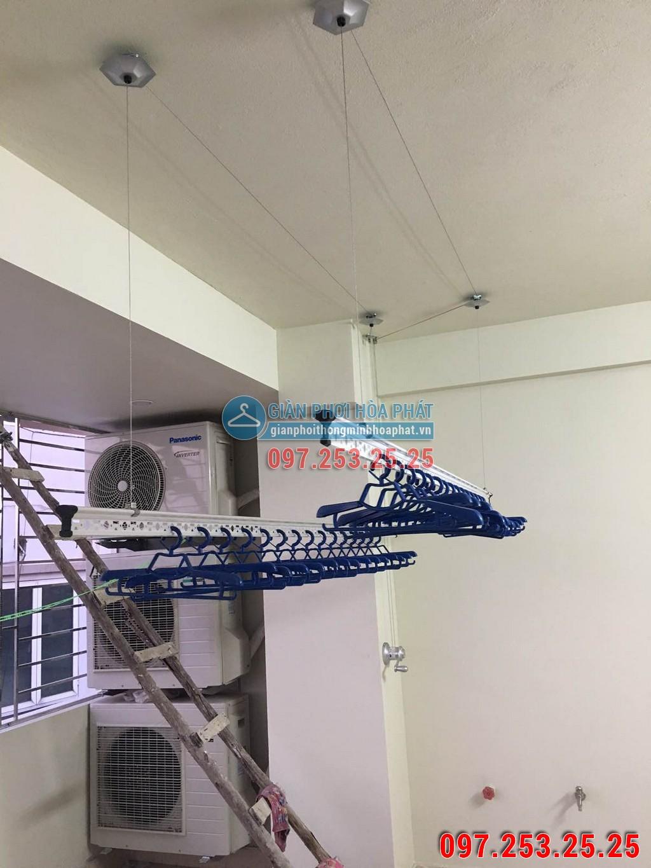 Chị Trang lắp giàn phơi Hòa Phát số 637B phố Quang Trung, Hà Đông 04