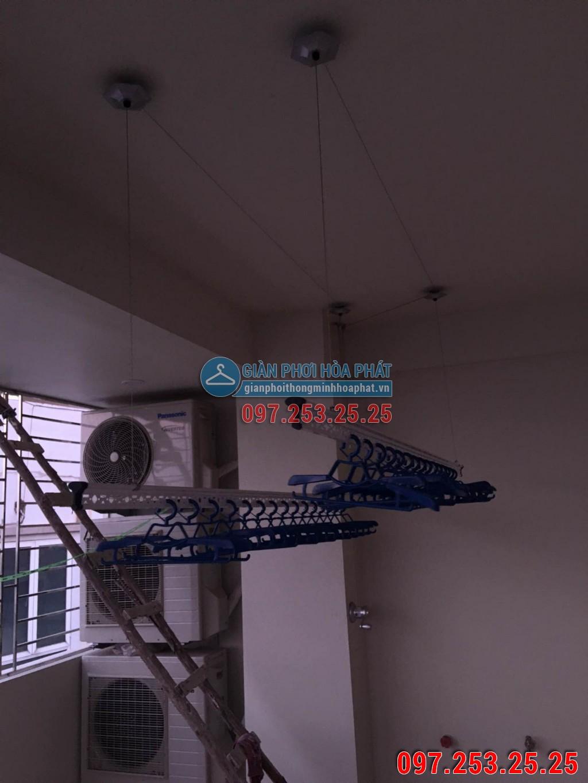 Chị Trang lắp giàn phơi Hòa Phát số 637B phố Quang Trung, Hà Đông 06