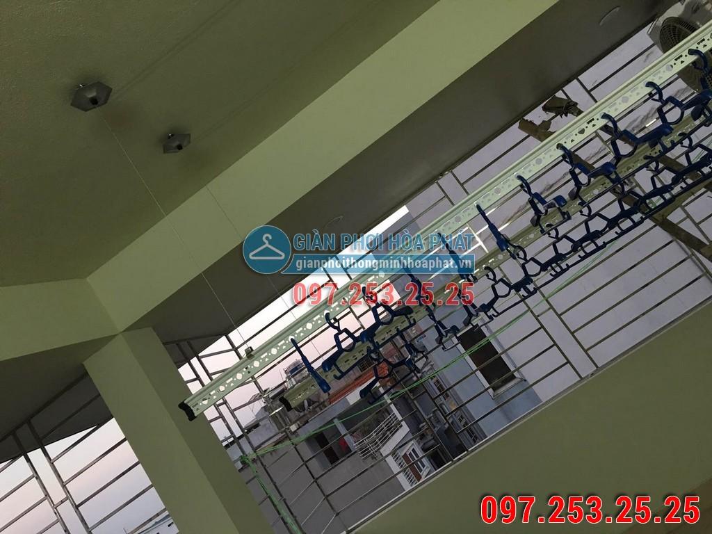 Chị Trang lắp giàn phơi thông minh Hòa Phát số 637B phố Quang Trung, Hà Đông 09