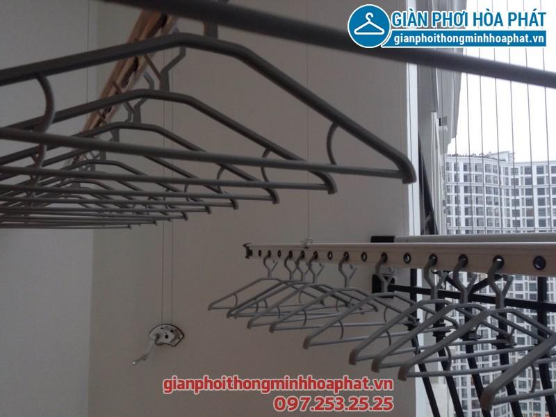Lắp đặt giàn phơi thông minh chất lượng cao tại chung cư Park Hill Hà Nội