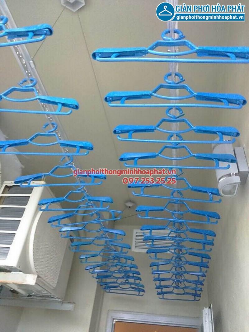 Lắp đặt giàn phơi thông minh cho căn hộ 505 tòa nhà Thăng Long, Nam Từ Liêm, Hà Nội