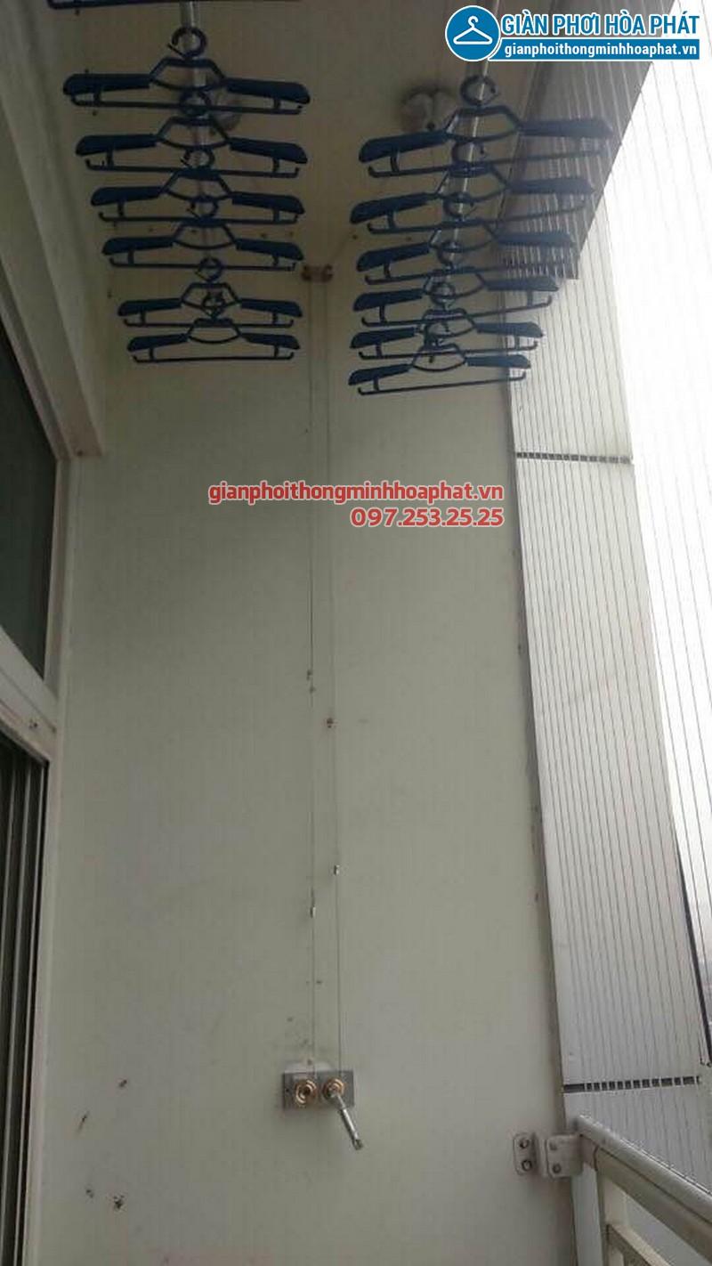 Lắp đặt giàn phơi thông minh nhà chị Thảo, P1109, Park 1, Park Hill Time City