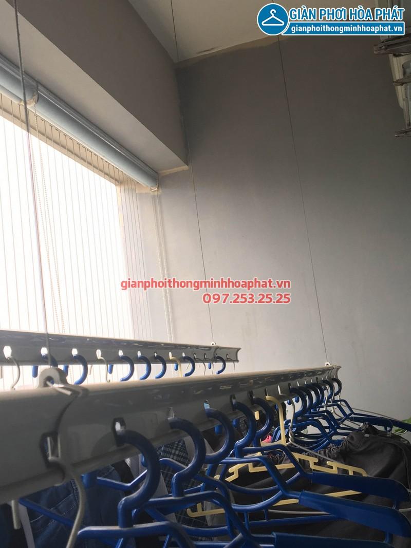 Lắp đặt giàn phơi thông minh nhà cô Mai, P3197, Park 7, Park Hill Time City