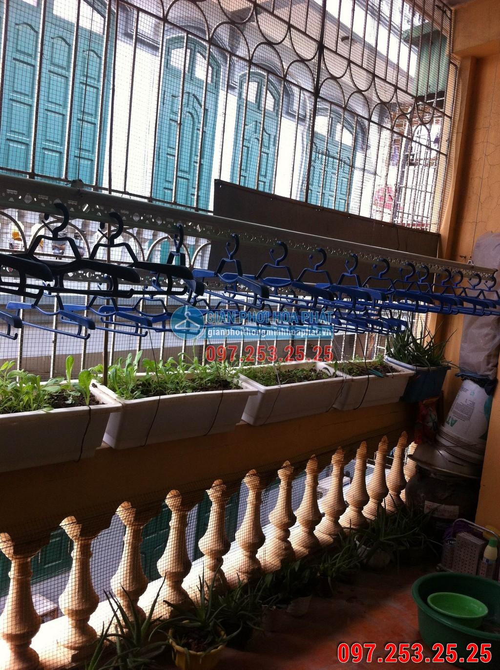 Giàn phơi thông minh nhà anh Trung Chung Cư Vinh Plaza Ngã Tư Ga, Tp.Vinh, Nghệ An