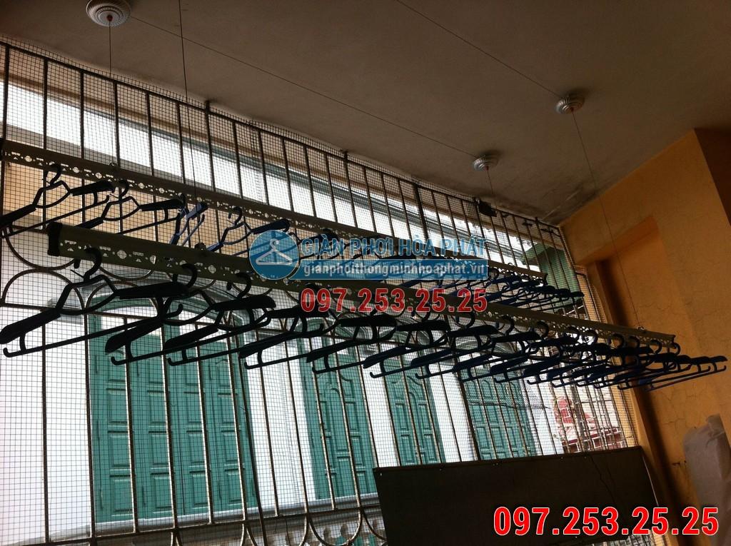 Giàn phơi thông minh nhà anh Trung Chung Cư Vinh Plaza Ngã Tư Ga, Tp.Vinh, Nghệ An 02