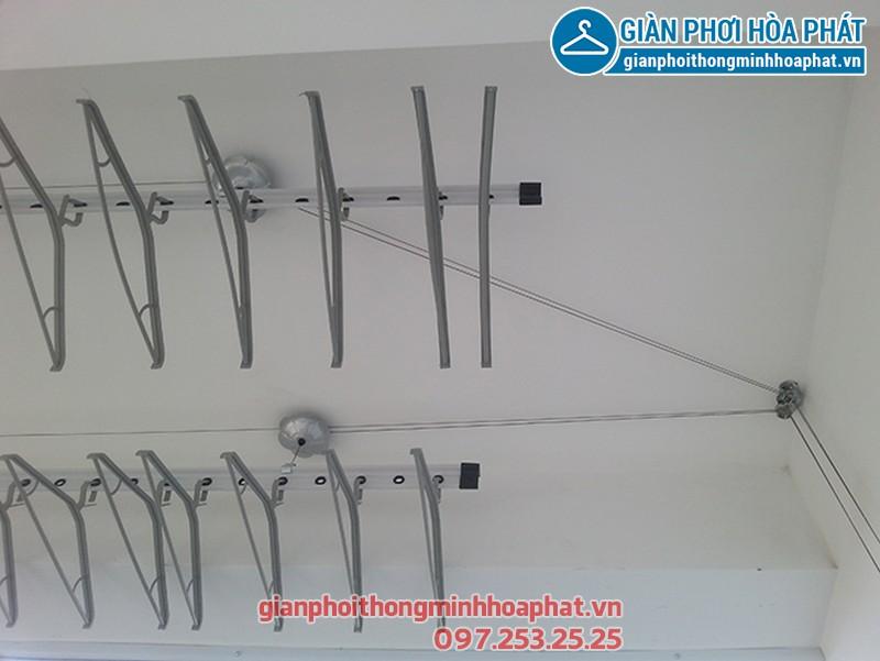 Lắp giàn phơi thông minh nhà anh Bình P1206 A3 ngõ 250 Minh Khai 03