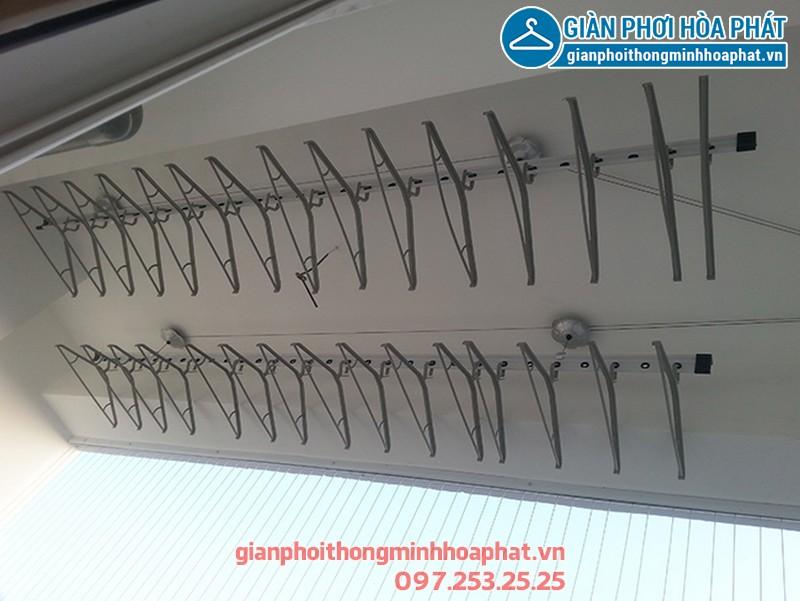 Lắp giàn phơi thông minh nhà anh Bình P1206 A3 ngõ 250 Minh Khai 04