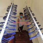 Lắp giàn phơi thông minh nhà anh Ngọc ngõ 420/52 số 10 đường Kim Giang