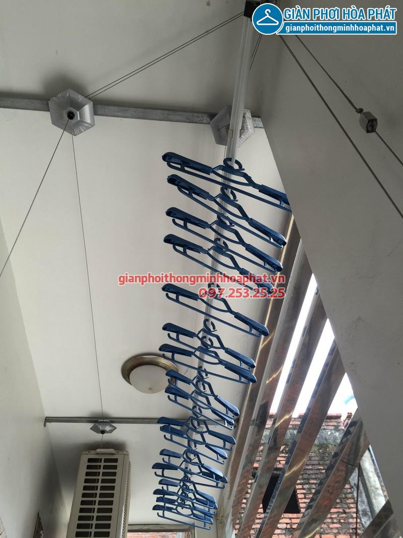 Lắp giàn phơi thông minh đường Nguyễn Xiển 08