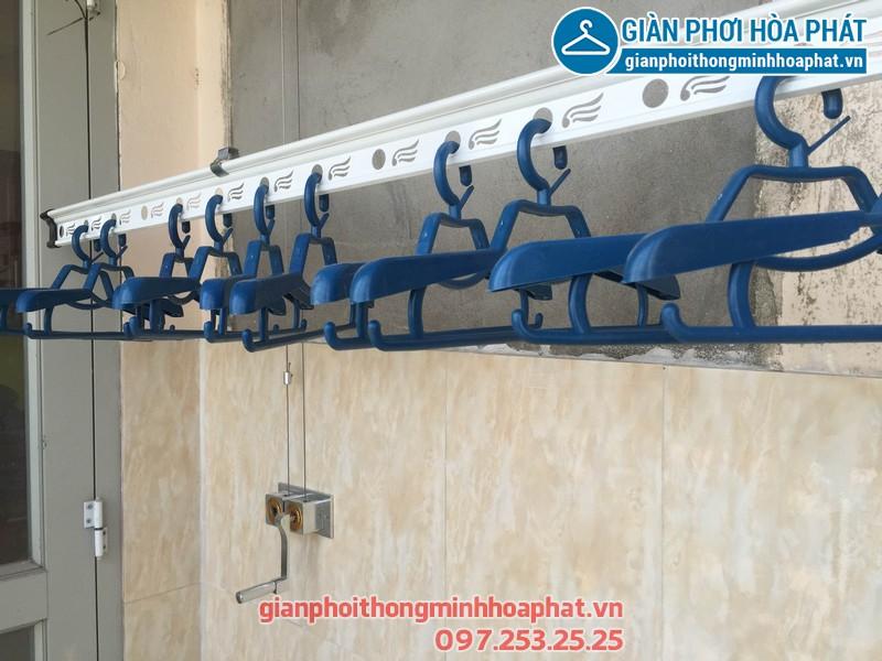 Lắp giàn phơi thông minh nhà chị Khanh p1305 tòa Gold West Lê Văn Thiêm 01