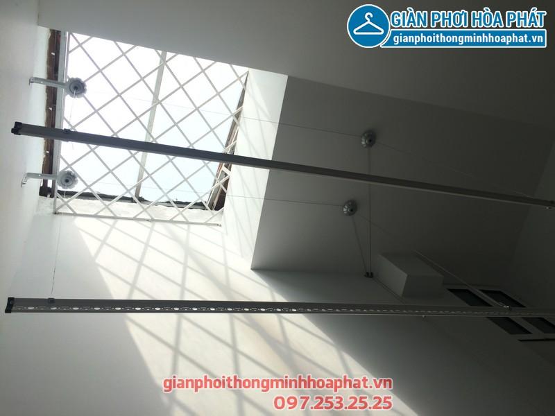Lắp giàn phơi thông minh cho nhà chú Đức tại Đồng Mai, Hà Đông, Hà Nội