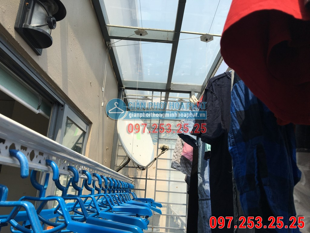 Giàn phơi thông minh P1902 tòa HH2 chung cư MecoComplex 07