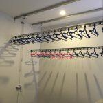Lắp giàn phơi thông minh phòng 2009 C2 tòa nhà Hòa Phát