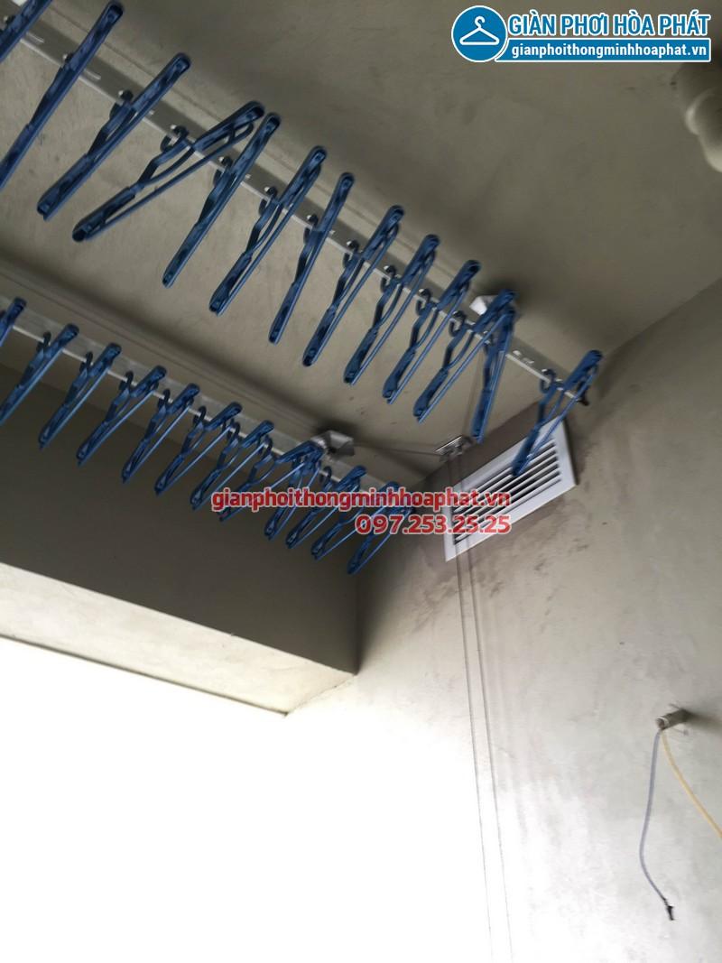 Nhà A.Dũng lắp giàn phơi thông minh p3212 tòa A Thăng Long Number One 02