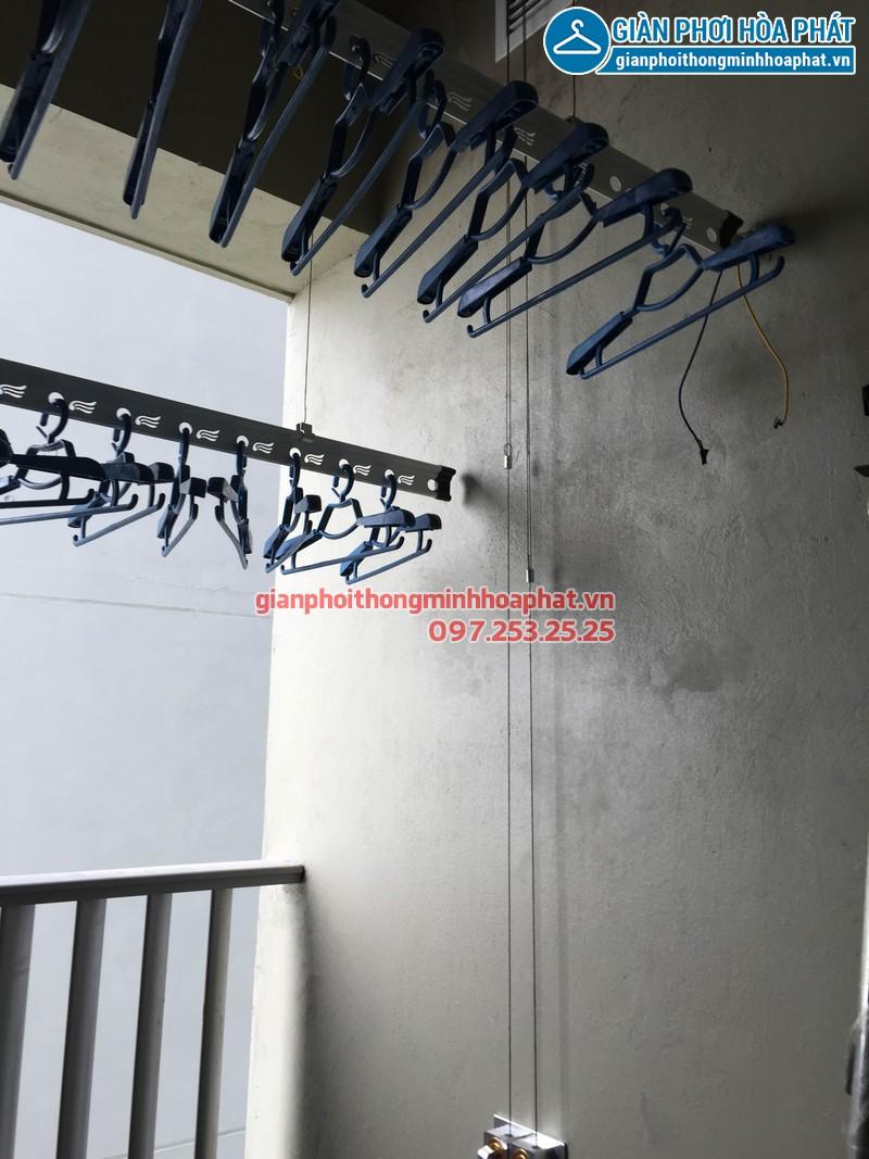 Nhà A.Dũng lắp giàn phơi thông minh p3212 tòa A Thăng Long Number One 03