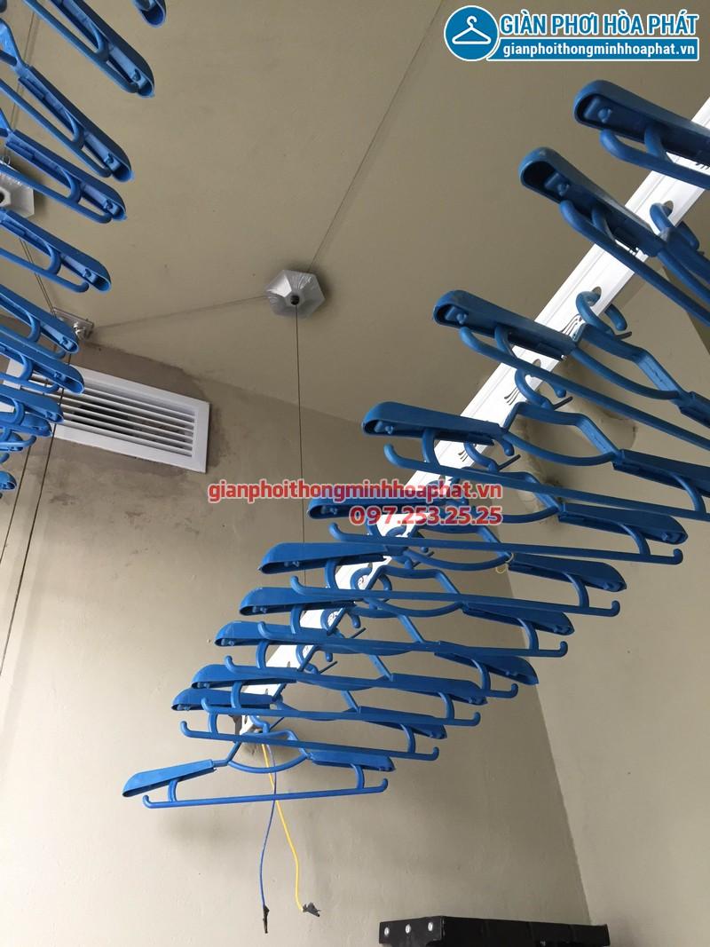 Lắp giàn phơi thông minh chung cư 11