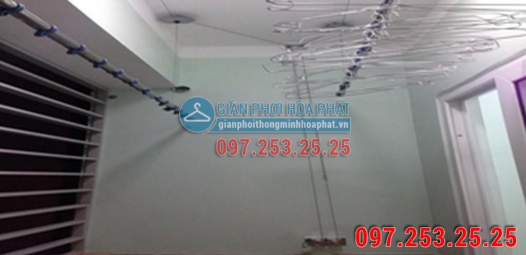 Nhà anh Hiếu lắp giàn phơi thông minh chung cư Tân Phát, p.Vinh Tân, tp.Vinh 01