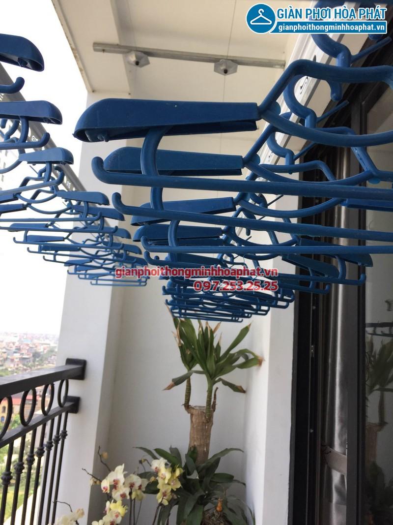 Lắp giàn phơi thông minh chung cư cao cấp 11