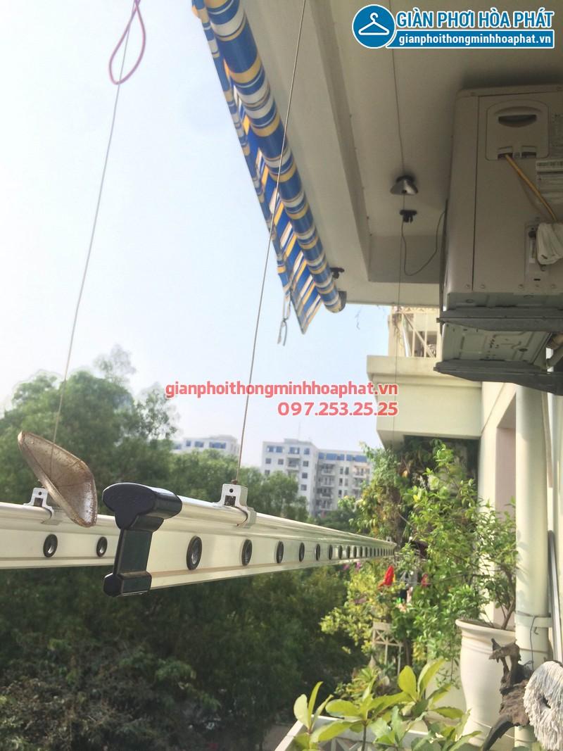 Sửa giàn phơi thông minh nhà anh Hoàng P303, CT3-3 kđt Mễ Trì Hạ 01