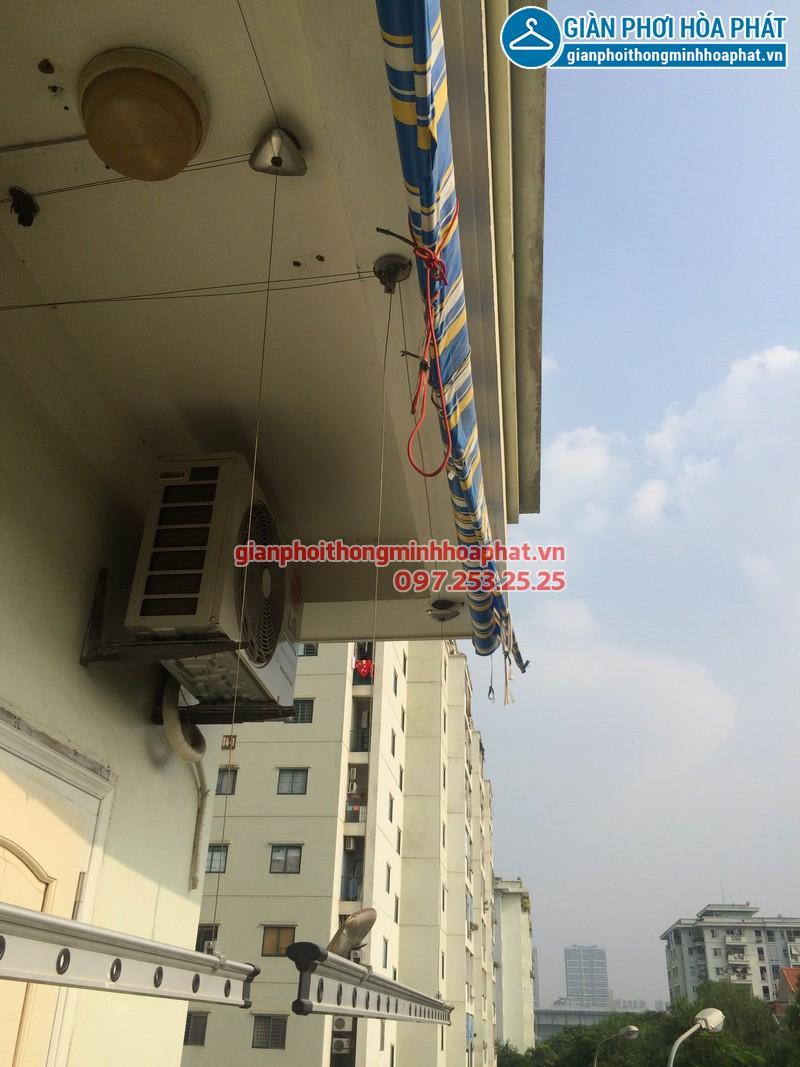 Sửa giàn phơi thông minh nhà anh Hoàng P303, CT3-3 kđt Mễ Trì Hạ 06
